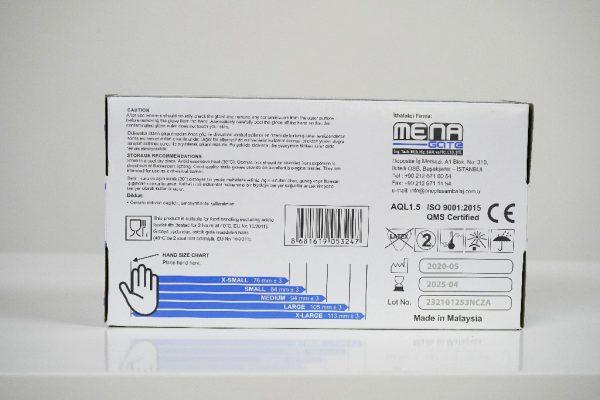One Plus +1 Nitril Pudrasiz Muayene Eldiveni Mavı Toptan Satış Üretici (5)