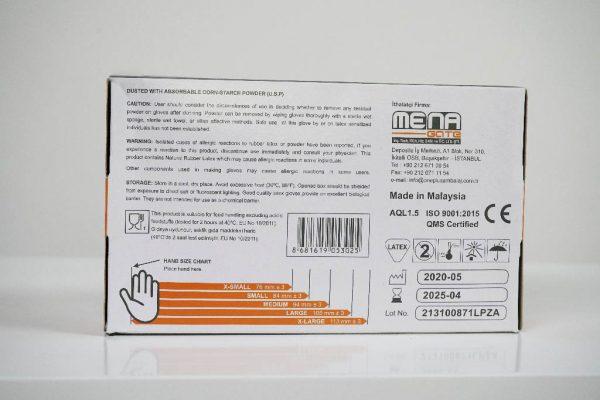 One Plus +1 lateks muayene eldivenleri pudrali Toptan Satış Üretici (1)